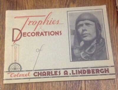 1933 Trophies & Decorations Of Colonel Charles A. Lindbergh