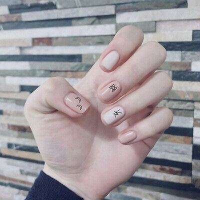 DIY Decor Nail Art Water Decals Transfer Stickers Letter Manicure DIY Tips Nails