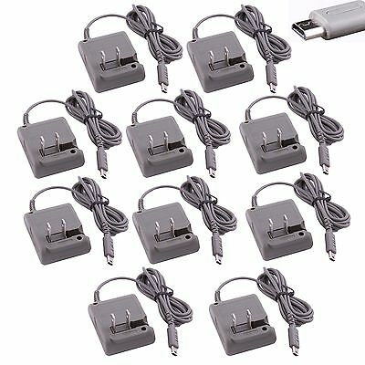 10pcs/Lot Wall US Plug AC Power Adapter Cable Cord for Nintendo DS Lite NDSL DSL