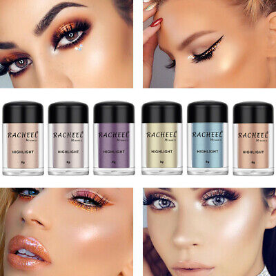 6 Colors Ladies Cosmetics Eye shadow Color Makeup Pro Glitter Eyeshadow Powder