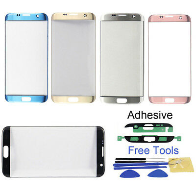 CO_ Front Glass Lens Touch Screen Replace for Samsung Galaxy S7 Edge G935 Intrig