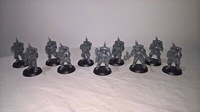 ML SS Warhammer 40,000 Space Marines Vanguard Primaris 10 man Infiltrator Squad