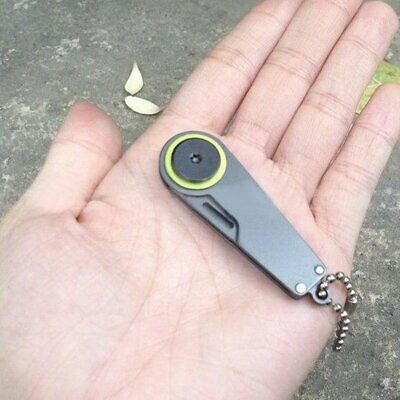 Portable Mini Folding Pocket Knife Outdoor EDC Survive Tool Keychain Knife