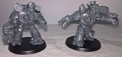 ML SS Warhammer 40,000 Chaos Space Marines Daemonkin 2 Obliterators on sprue