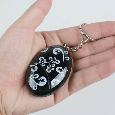 Personal Safety Alarm Anti-Attack Rape Security Self Defense Keychain Panic Loud