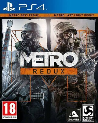 Metro Redux For PS4 (New & Sealed)