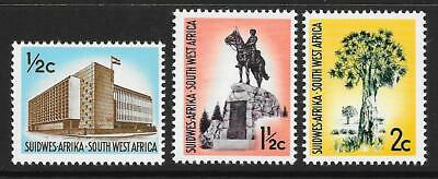 South West Africa 1970-71 Set of Three SG 224-226 (MNH)