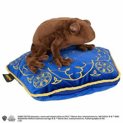 Harry Potter Chocolate Frog Plush Soft Toy And Honeydukes Cushion Pillow