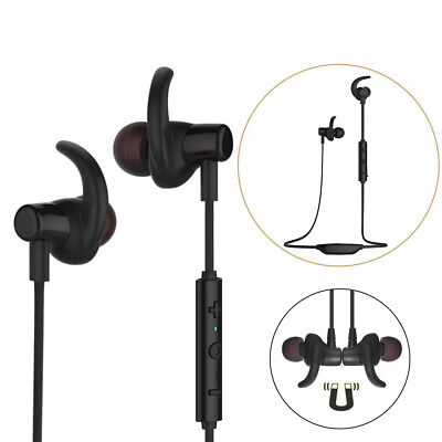 Wireless Bluetooth 4.1 In-ear Earbud Headphones Stereo Earphones Headset w/Mic