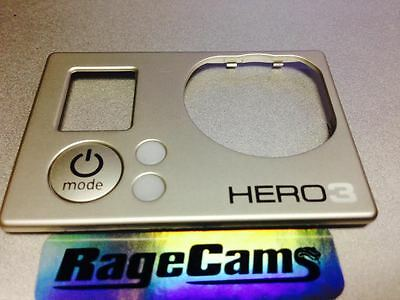 Front Faceplate Camera Face Plate Cover For Gopro HD Hero HD3 Hero3 White MINT