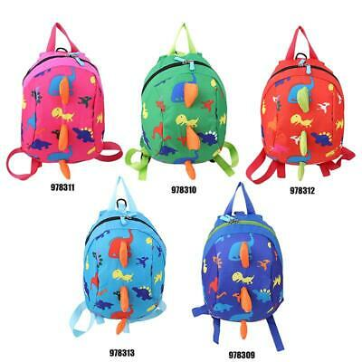 New Kids Baby Safety Harness Backpack Leash Child Toddler Anti-lost Dinosaur Y2