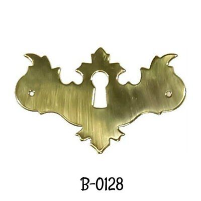 Keyhole Cover Polished Brass Early American Style Key hole Cover Escutcheon