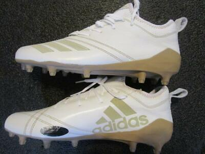 new style d9d30 a903d Adidas Adizero 5 Star 7.0 Low Sundays Best Football Cleats 10.5 White