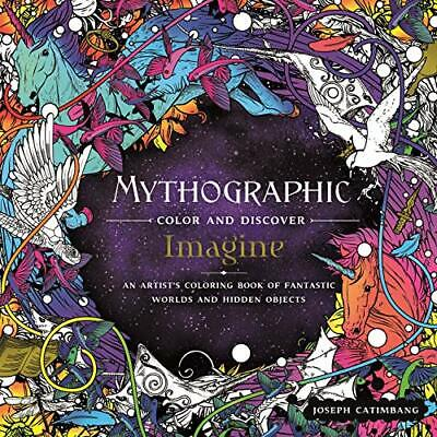Mythographic Color and Discover: Imagine - Paperback / softback NEW Catimbang, J