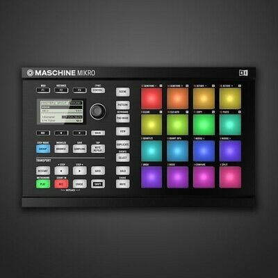Native Instruments - Maschine Mikro Mk2 (WITH SOFTWARE) KOMPLETE 11 & 11 Expans