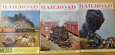Railroad Magazine Complete Year 1961 6 issues