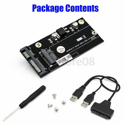 1 SET 20+6 Pin SSD to SATA 2.5 or USB Adapter for Thinkpad Lenovo X1 Carbon