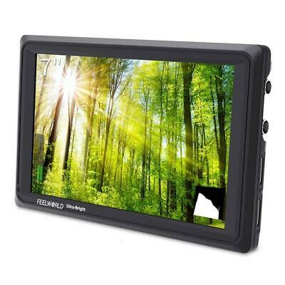 FEELWORLD FW279S 7 Inch 2200nit Daylight Viewable Monitor 3G-SDI 4K HDMI In/Out