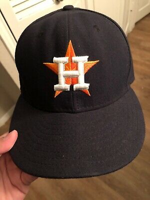 d5f18783cec Houston Astros MLB Vintage New Era Pro Model ADC Fitted 7 1 8 Wool Cap