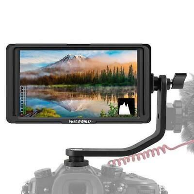 FEELWORLD F5 5 Inch Monitor w/ Tilt Arm IPS Full HD 4K HDMI In/Out
