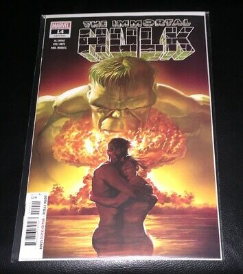The Immortal Hulk #14 Alex Ross 1st Print Marvel Comics 2019 NM