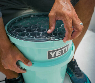 YETI LoadOut Bucket Lid (New, HeftyHex Construction, DryGlide Gasket)