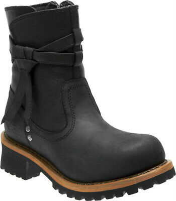 b3cf56a3065b Harley-Davidson® Women s Mercer Black Leather Motorcycle Riding Boots D87163