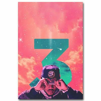 Chance The Rapper Hot Music Rap Art Poster - No Frame