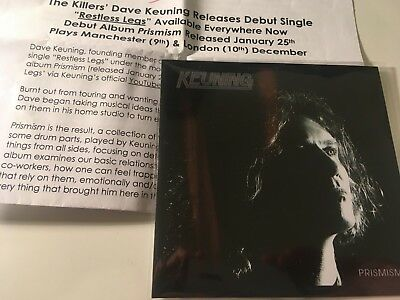 Keuning 2019 PROMO CD ALBUM +PR Prismism THE KILLERS