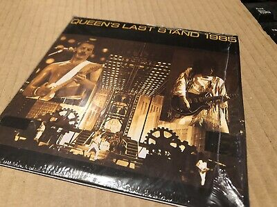 Queen Last Stand 1985 Live In Concert Double Cd (card Sleeve)