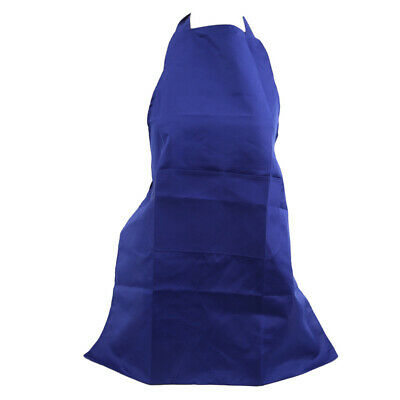 Solid Color Apron Bib Home Cooking Baking Coffee Shop Kitchen Cleaning Aprons CB