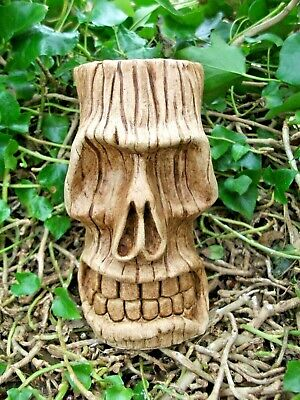 New Design Rubber Latex Mould Moulds Mold To Make Tiki Head Skull Halloween