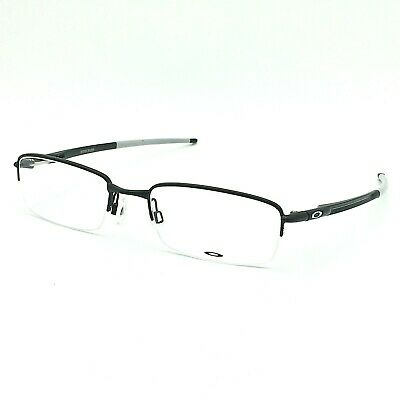 6a3f6f3022 Oakley Rhinochaser OX3111-0252 Satin Black Half-Rimless Eyeglasses 52mm