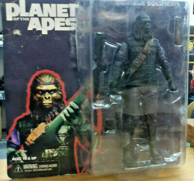 Neca PLANET OF THE APES Soldier Ape carded 6inch action figure MOC