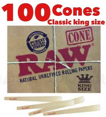 Raw Organic 1 1/4 Size  Pre-rolled Cones with Filter (225 Pack)