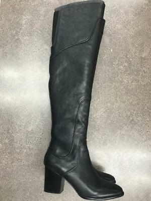 7cdeaefe93b REBECCA MINKOFF BARDOT Over the Knee Suede Boots Boot Black 7 7.5 8 ...