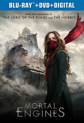 Mortal Engines [New Blu-ray] With DVD, 2 Pack, Digital Copy