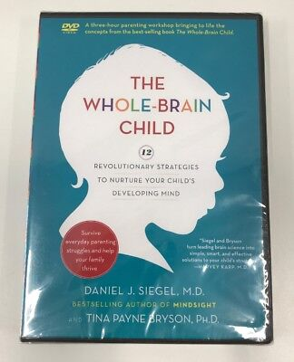 The Whole Brain Child DVD 3-Hour Parenting Workshop DVD New Sealed Siegel MD
