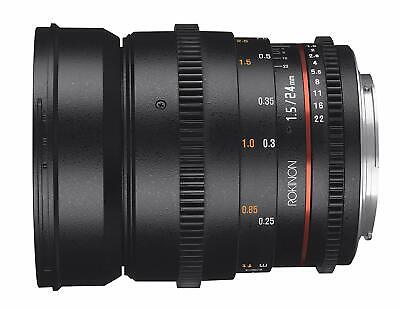 Rokinon Cine DS DS24M-C 24mm T1.5 ED AS IF UMC Full Frame Cine Wide Angle Lens