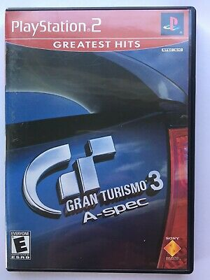 ~TESTED NM~ Sony Playstation 2 PS2 Gran Turismo 3 A-Spec Fast Ship Canada