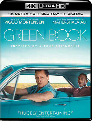 Green Book [New 4K Ultra HD] With Blu-Ray, 4K Mastering, Digital Copy, 2 Pack