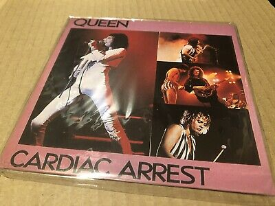 Queen Cardiac Arrest Rare Live In Concert Cd Limited Edtion Of 5,000