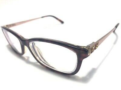 529add86904 BEBE Women s Eyeglass Frames BB5084 228 52-15mm Topaz Tortoise FRAME ONLY  1710