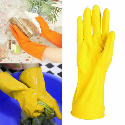 New Rubber Latex Dish Washing Cleaning Long Gloves Household Kitchen Glove