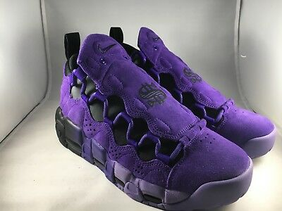 competitive price e7350 bf3f7 Nike Air More Money QS PRPL Mens Size 9.5 Shoes Court Purple AQ2177 500