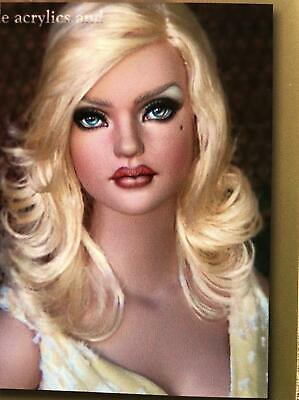 Ooak Sydney Repaint By Hmg Studio Her Name Is Lane Get Now Tonner Closed 2018 Dolls