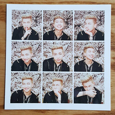 Rm Rap Monster Official Photocard Bts The Most Beautiful Moment In