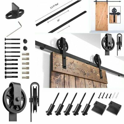 Sliding Barn Wooden Door-Hardware modern Inte Sliding Barn Door Track hardware