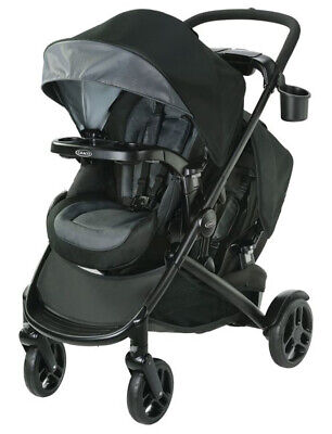 Graco Baby Modes2Grow Double Stroller w/ Basket Hold Spencer NEW