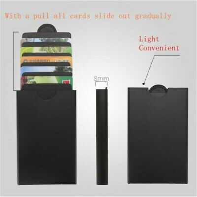 2018 The Ingenious Wallet BLACK with RFID Blocking Card The minimalist wallet